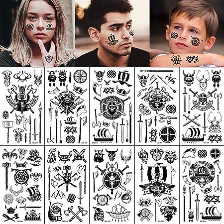Viking hand tattoo