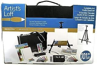 Artists Loft Complete Art Studio Easel Set