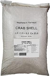 Neptune's Harvest CS650 Organic Crab Shell Multi-Purpose Plant Food, 50-Pound, Brown/A