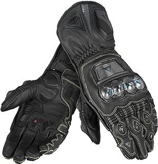 Dainese Full Metal D1 Long Leather Motorcycle Gloves (S (8), Black/Black/Black)