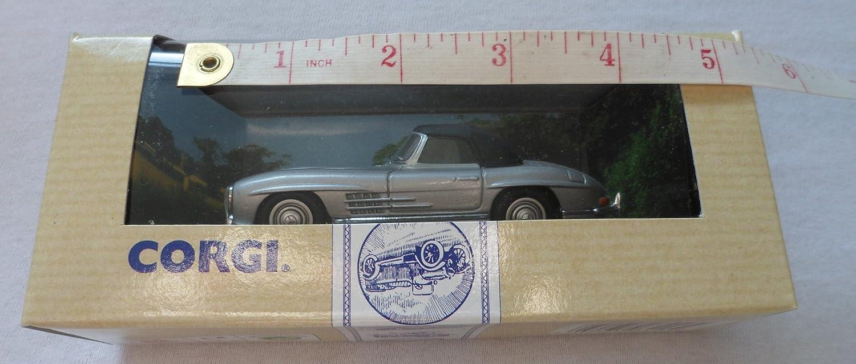 Corgi – Mercedes-Benz 300 SOFT TOP – Silber – 96416 von Mattel – Made in 1993 B00G9XU926 Kaufen Sie online    Elegante Form