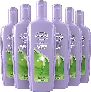 Andrélon Classic Iedere Dag Shampoo Voor Ieder Haartype - 6 x 300 ml - Voordeelverpakking