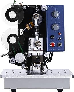 VEVOR Electric Ribbon Printing Machine HP-241B Semi-Automatic Color Ribbon Hot Printer Machine 200W Hot Stamp Printer Machine 110V