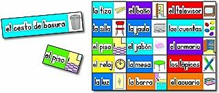 Carson Dellosa Print-Rich Classroom Labels: Spanish Bulletin Board Set (3440)