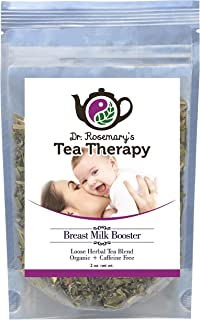 Organic Breastfeeding Tea Therapy - Mother's Milk Tea - Caffeine Free - 40-50 cups - Loose Leaf Herbal Blend for Nursing M...