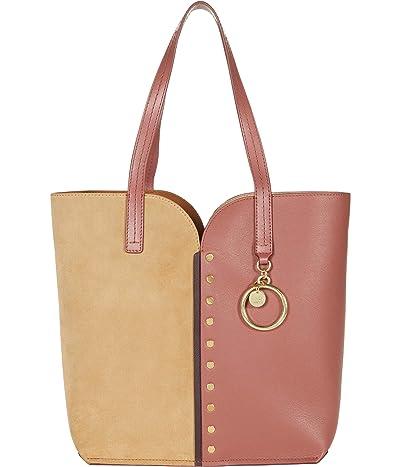 See by Chloe Gaia Tote (Fawn Brown) Handbags