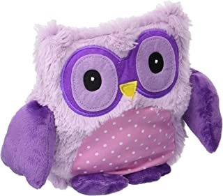 Warmies Microwavable French Lavender Scented Plush Purple Hooty Owl