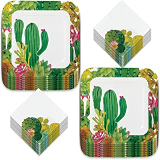 Best cactus party plates and napkins Reviews