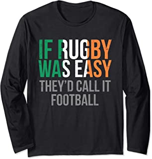 Funny Irish Rugby - Ireland Rugby Long Sleeve T-Shirt