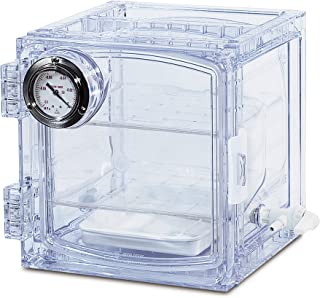 Bel-Art Lab Companion Clear Polycarbonate Cabinet Style Vacuum Desiccator; 11 Liter (F42400-4001)
