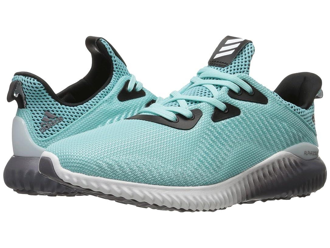 不均一インフラ冷える(アディダス) adidas レディースランニングシューズ?スニーカー?靴 Alphabounce Clear Aqua/Footwear White/Trace Grey 10 (27cm) B - Medium