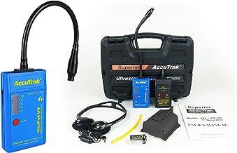 Superior AccuTrak VPE-GN PLUS Gooseneck Ultrasonic Leak Detector Plus Kit, Includes VPE Leak Detector, Headset, Battery, H...