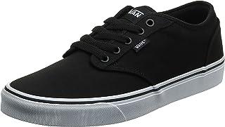 Vans Men's Atwood Canvas Low-Top Sneakers, Black (Blk / Wht 187), 9 UK (43 EU)