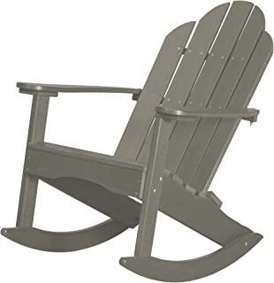 Wildridge Outdoor Recycled Plastic Classic Adirondack Rocking Chair - Ships in 10-14 Business Days