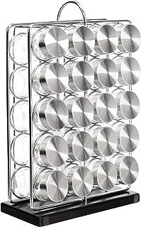 AmazonBasics 20-Jar Spice Organizer Rack