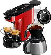 Philips Senseo HD6592/80 Switch 2-i-1 kaffebryggare, röd