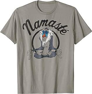 Lion King Rafiki Namaste Graphic T-Shirt