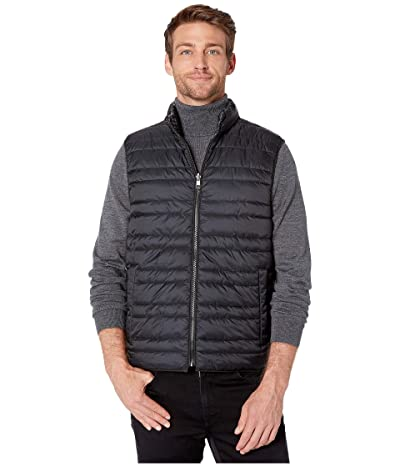 Michael Kors Lightweight Down Vest (Black) Men