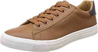 US Polo Association Men's Ricky Leather Sneakers