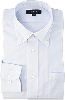 [タカキュー] ワイシャツ 形態安定 レギュラーフィット 長袖 ビジネスシャツ メンズ