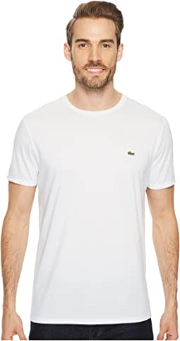 208b5307 Lacoste short sleeve pima jersey crewneck t shirt | Shipped Free at ...