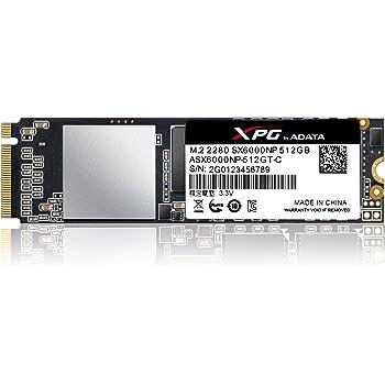 XPG SX6000 512 GB PCI Express 3.0 M.2 - Disco Duro sólido (512 GB ...