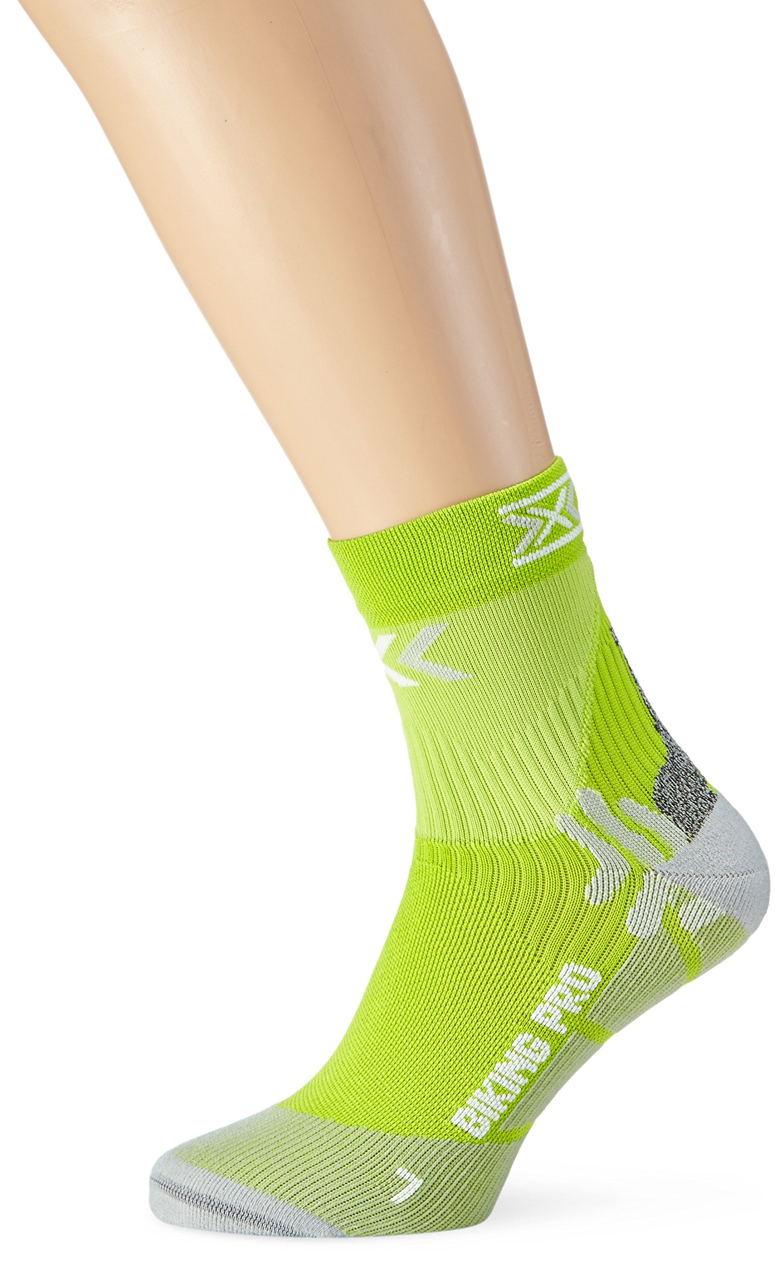 X-Socks Herren Socken BIKING PRO, White/Black, 35/38, X020370