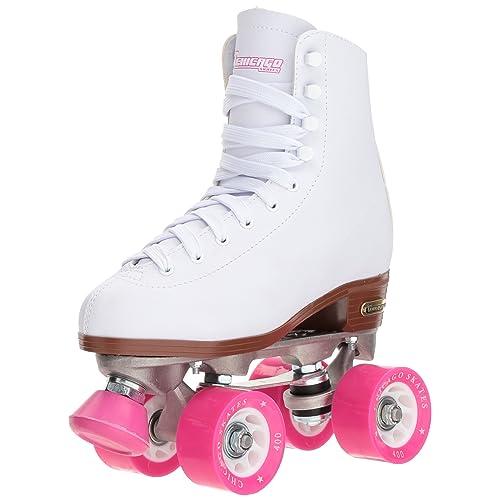 Chicago Womens Classic Roller Skates – White Rink Skates