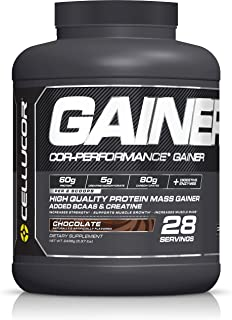 Cellucor, COR-Performance Mass Gainer Protein Powder, Chocolate, 28 Servings