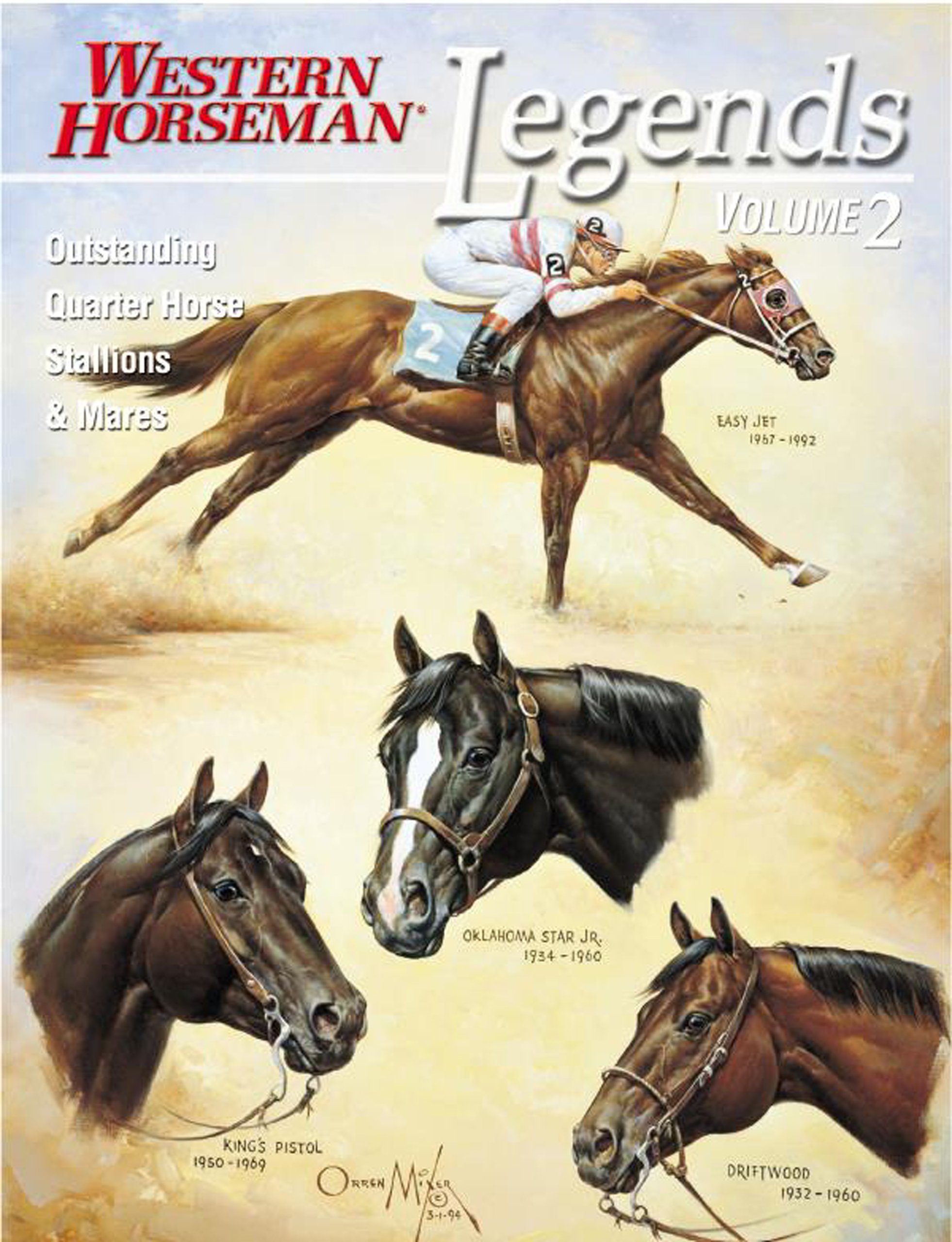 Download Legends: Outstanding Quarter Horse Stallions and Mares