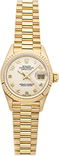 Rolex Datejust Mechanical (Automatic) Ivory Dial Womens Watch 69178 (Certified Pre-Owned)