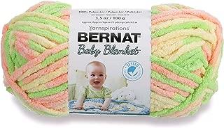 Bernat Baby Blanket Yarn, 3.5 oz, Gauge 6 Super Bulky, Little Sunshine