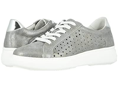 Johnston & Murphy Nora (Silver Metallic Italian Suede) Women