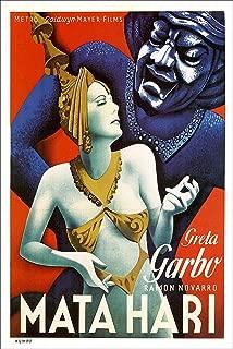 American Gift Services - MATA Hari Vintage Greta Garbo Movie Poster Print - 11x17