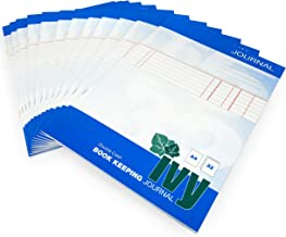 Ivy Journal Book Keeping - Double Cash - A4-32 Page - 80gsm - Pack of 12