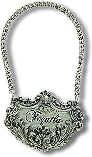 Vagabond House Medici Pewter Tequila Decanter Tag/Liquor Bottle Label 2.5