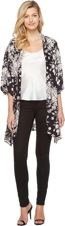 Vince Camuto - Vintage Boutique Floral Kimono