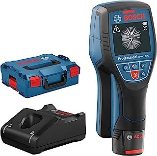 Bosch Professional 12V System Detector D-tect 120 (1 ballast 12V, détection max. de tuyaux plastiques/sous-structures/câbl...