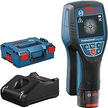 Bosch Professional 12V System Rilevatore D-tect 120 (1 batt. 12V, rilevamento max. tubi in plastica/sottostrutture/cavi so...