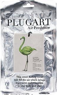 ノルコーポレーション エアーフレッシュナー 吊り下げ プラグアート 消臭 グリーンティーの香り PLA-1-4