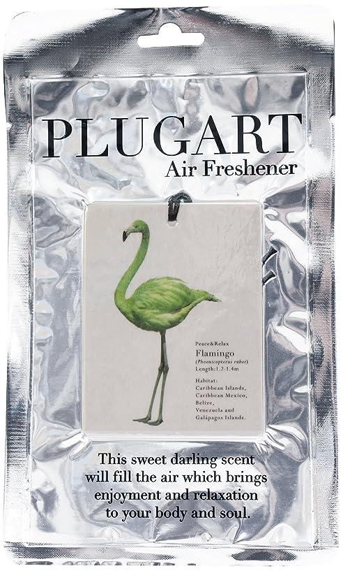 反射サービスそれノルコーポレーション エアーフレッシュナー 吊り下げ プラグアート 消臭 グリーンティーの香り PLA-1-4
