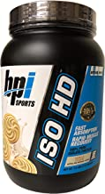 BPI Sports ISO HD Whey Protein Isolate, 1.6 pound (Vanilla Cookie)