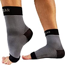 RiptGear Plantar Fasciitis Socks for Women and Men (1 Pair) Plantar Fasciitis Sleeves Designed to Provide Compression to t...