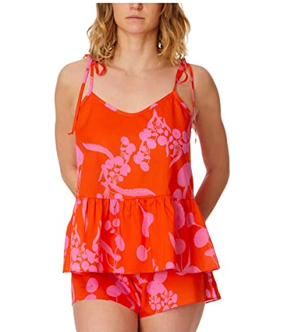 Hanky Panky Orange Crush Sleep Set (Red/Pink) Women