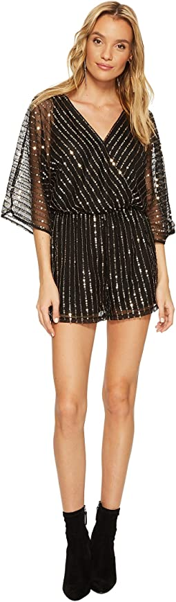 BB Dakota - Odelia Sequin Detailed Romper