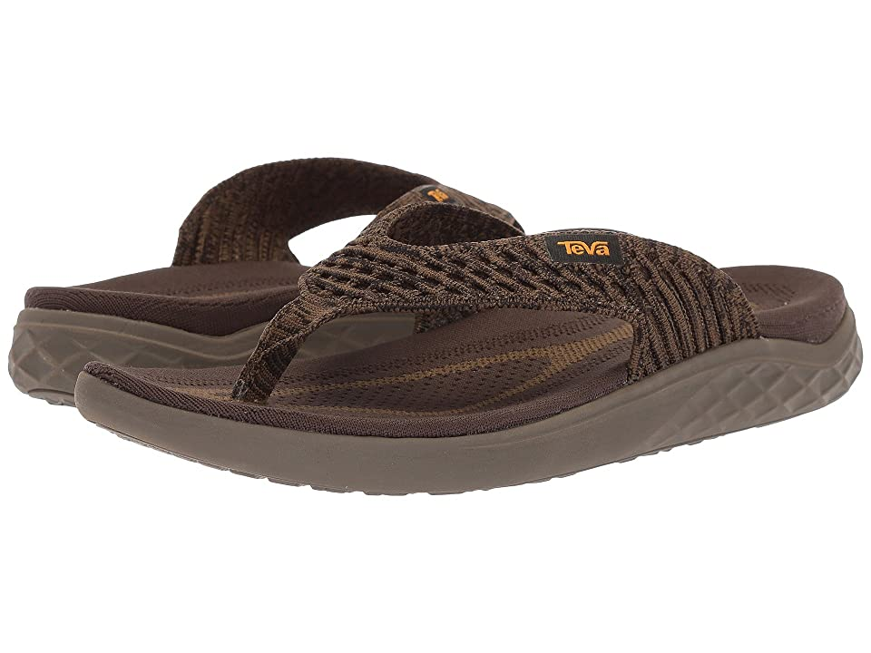 Teva Terra-Float 2 Knit Flip (Olive/Bungee Cord) Men