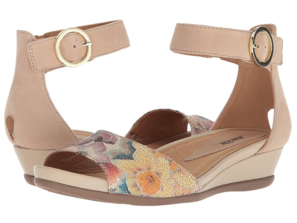 Earth Hera (Beige Floral Printed Suede) Women