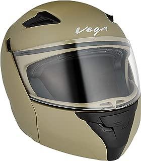 Vega Boolean Full Face Helmet (Brown, M)