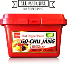 "Hot Red Chili Pepper Paste, Korean Traditional Essential Seasoning Sauce ""Go Chu.."