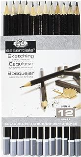 Royal & Langnickel SPEN-12 Essentials Sketching Pencil Set, 12-Piece